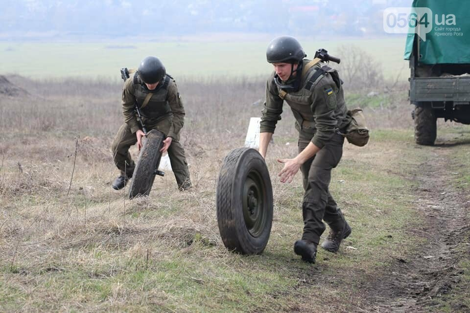 В Криворожской бригаде Нацгвардии начались соревнования зенитчиков, - ФОТО, фото-10