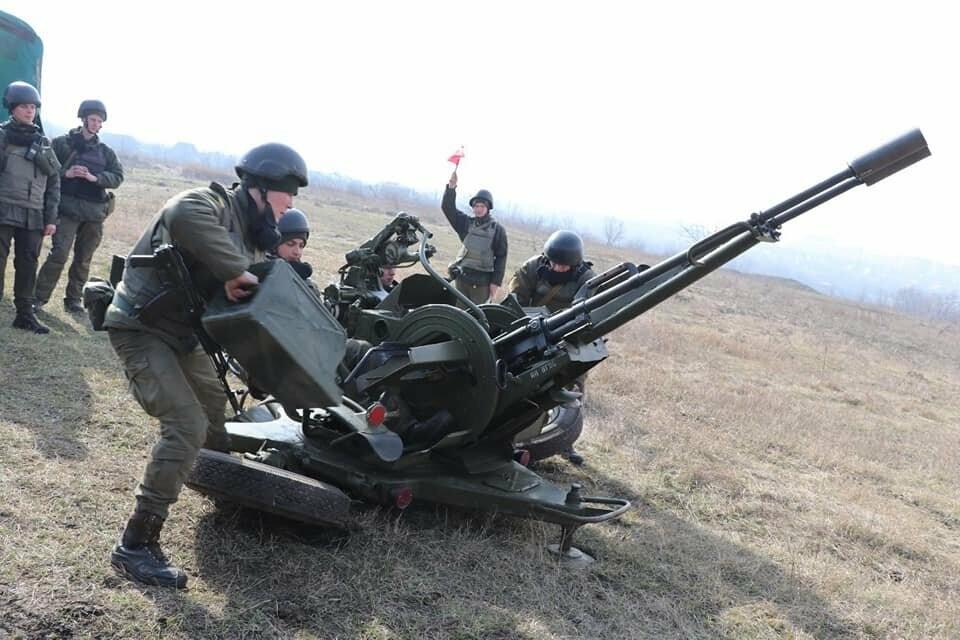 В Криворожской бригаде Нацгвардии начались соревнования зенитчиков, - ФОТО, фото-7