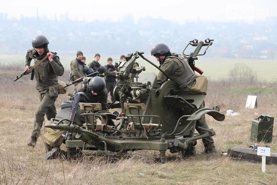 В Криворожской бригаде Нацгвардии начались соревнования зенитчиков, - ФОТО, фото-13