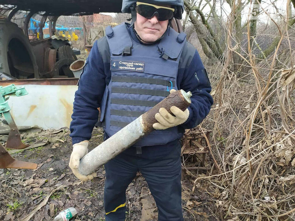 Под Кривым Рогом нашли старый артснаряд, - ФОТО, фото-1