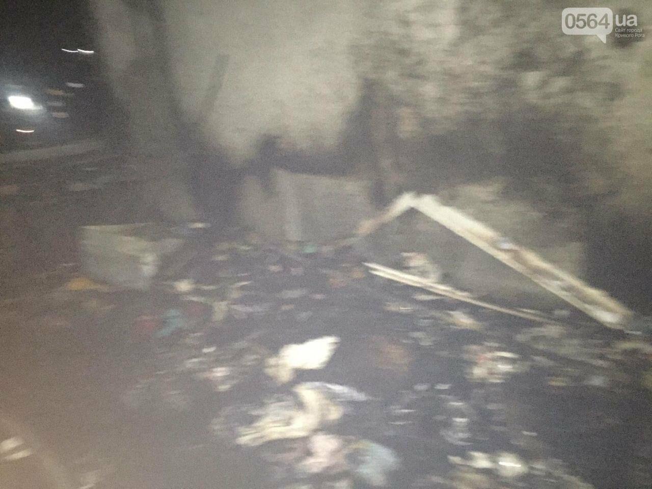 В Кривом Роге загорелась квартира на 6 этаже. Найдено тело мужчины, - ФОТО 18+, ВИДЕО, ОБНОВЛЕНО, фото-1