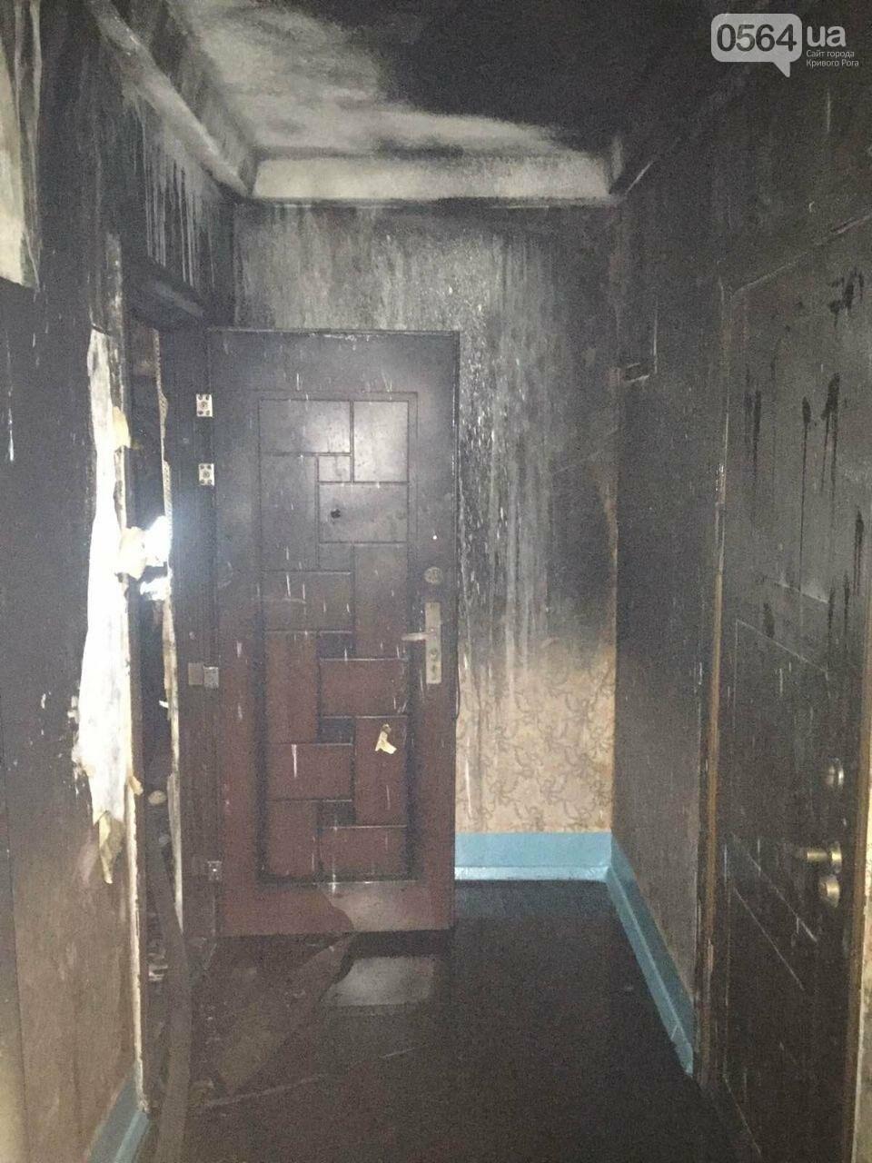 В Кривом Роге загорелась квартира на 6 этаже. Найдено тело мужчины, - ФОТО 18+, ВИДЕО, ОБНОВЛЕНО, фото-4
