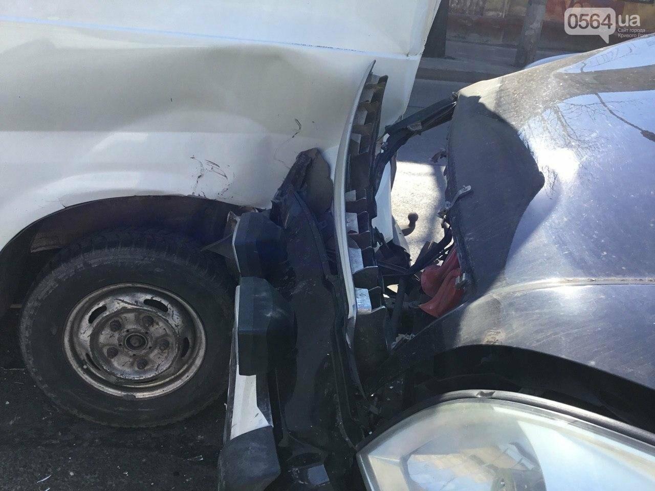 На центральном проспекте Кривого Рога столкнулись 4 автомобиля, - ФОТО, фото-8