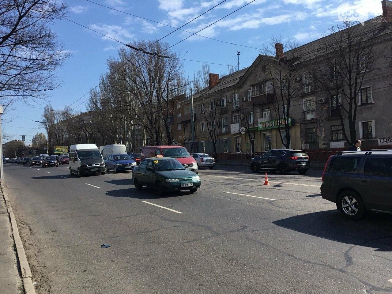 На центральном проспекте Кривого Рога столкнулись 4 автомобиля, - ФОТО, фото-18