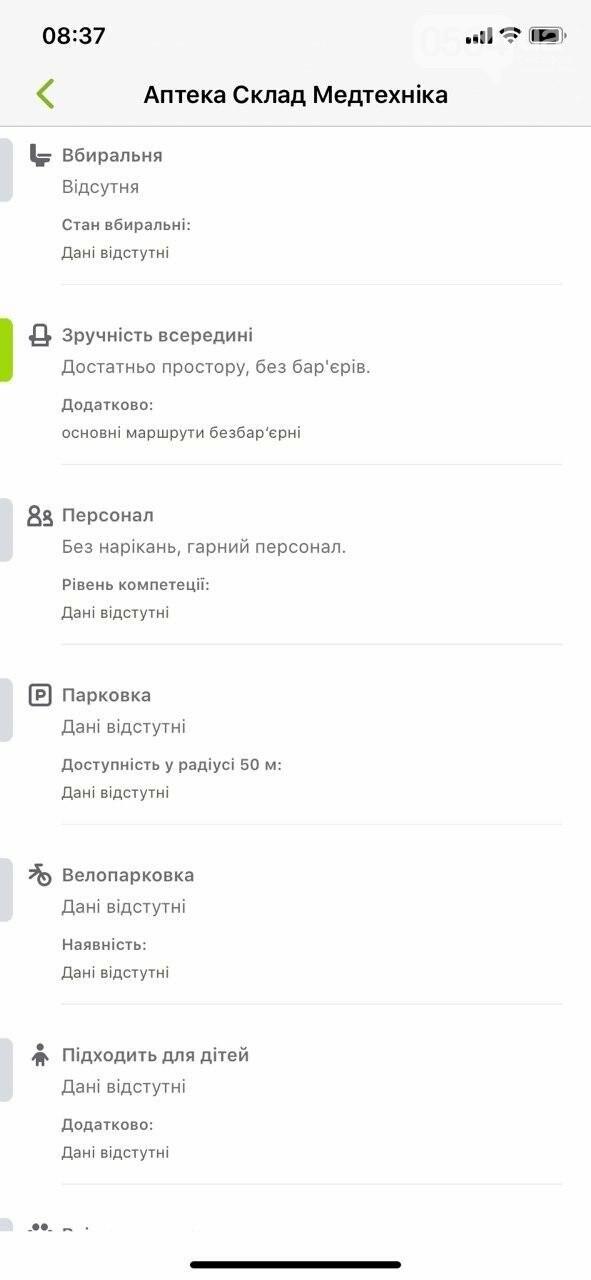 В Украине запустили приложение доступности городов для людей с инвалидностью. Кривой Рог есть на карте, - ФОТО , фото-6