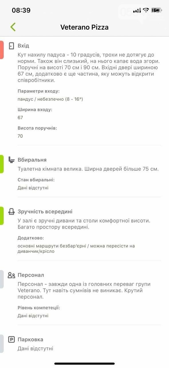 В Украине запустили приложение доступности городов для людей с инвалидностью. Кривой Рог есть на карте, - ФОТО , фото-14