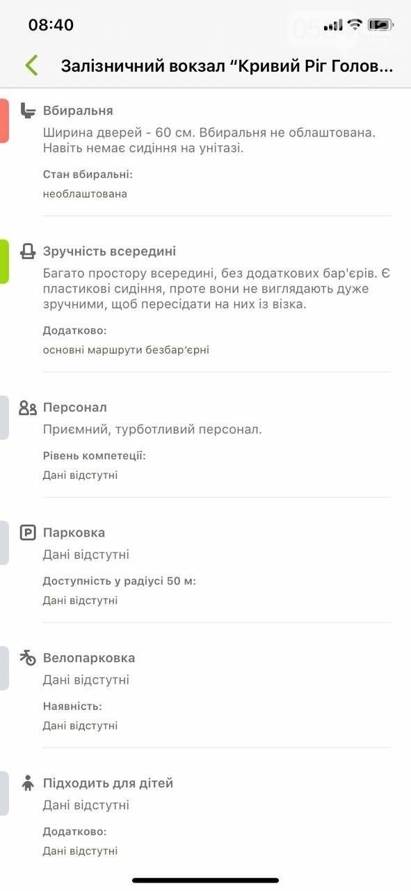 В Украине запустили приложение доступности городов для людей с инвалидностью. Кривой Рог есть на карте, - ФОТО , фото-18