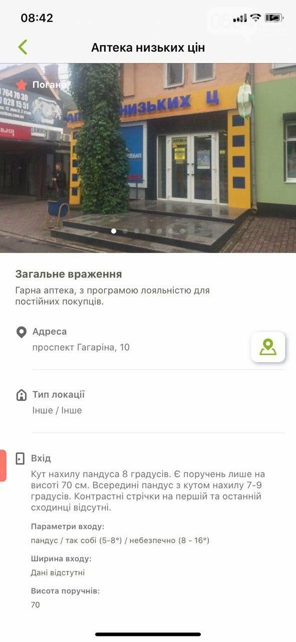 В Украине запустили приложение доступности городов для людей с инвалидностью. Кривой Рог есть на карте, - ФОТО , фото-21