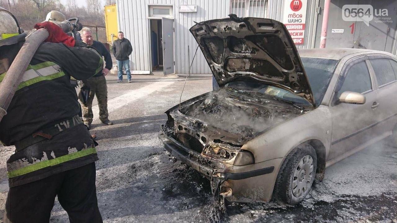 Криворожанин получил ожог руки, пытаясь спасти от огня собственный автомобиль, - ФОТО , фото-7