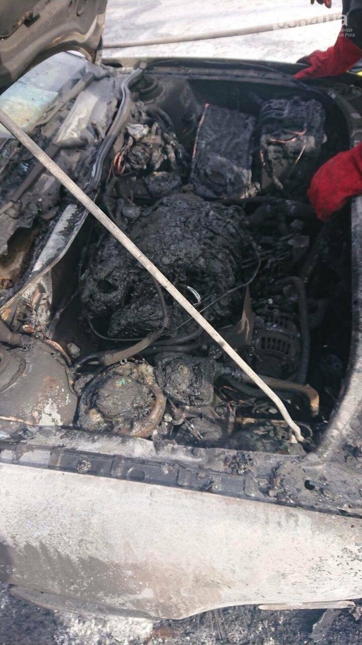 Криворожанин получил ожог руки, пытаясь спасти от огня собственный автомобиль, - ФОТО , фото-4