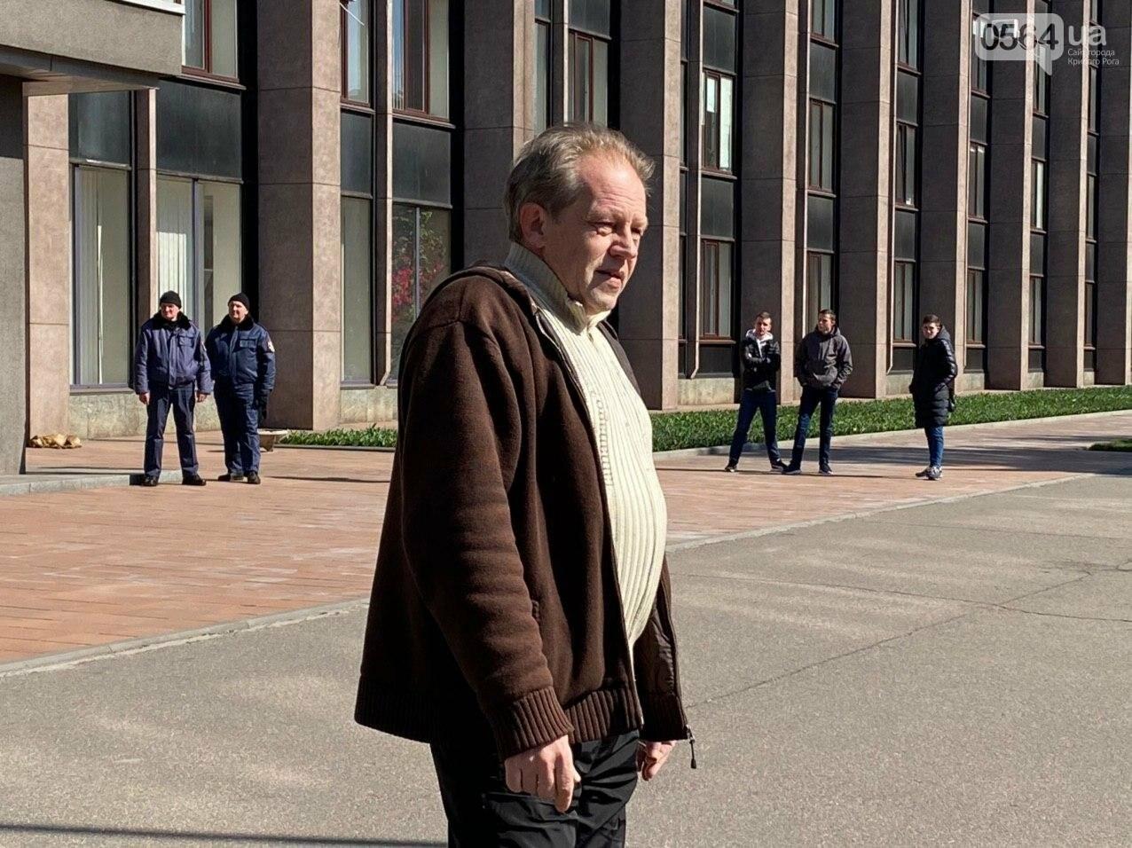 Криворожские предприниматели устроили акцию под горсоветом, - ФОТО, ВИДЕО, фото-5