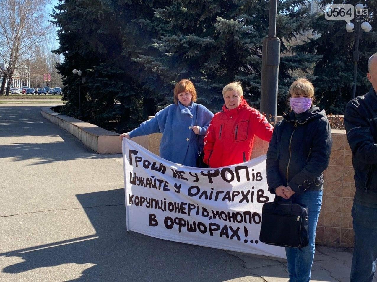 Криворожские предприниматели устроили акцию под горсоветом, - ФОТО, ВИДЕО, фото-10