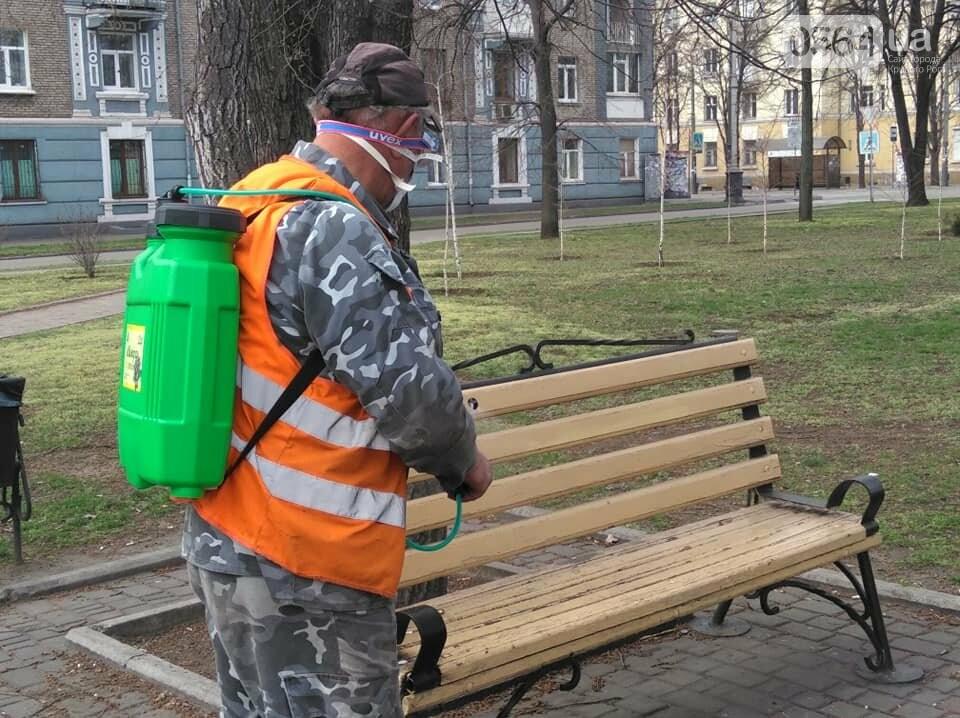 В одном районе Кривого Рога начали дезинфицировать детские и спортивные площадки во время карантина, - ФОТО  , фото-9