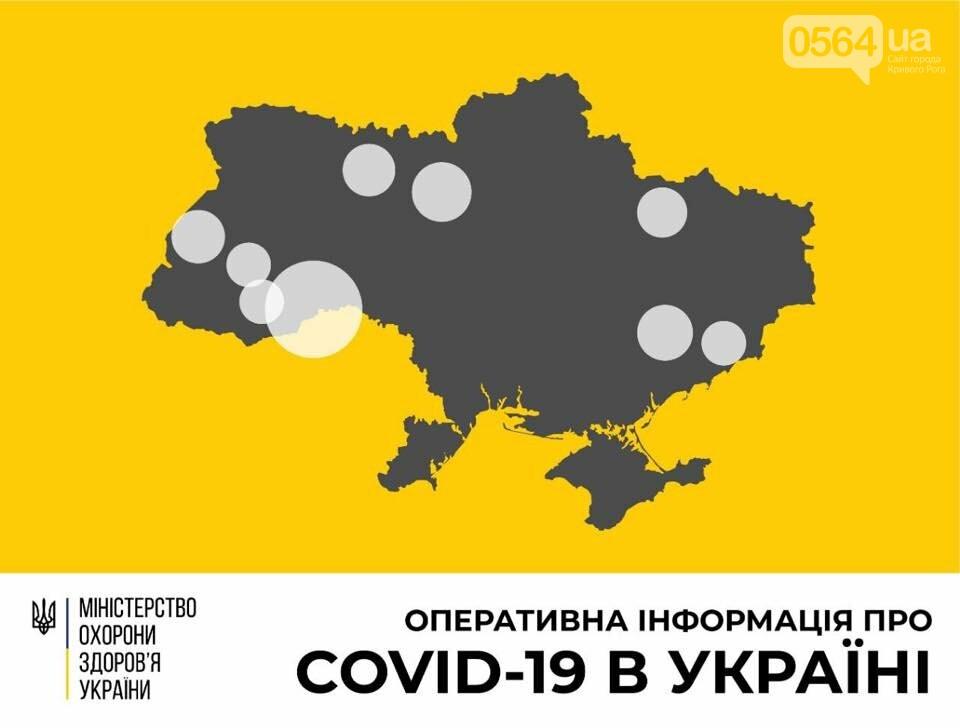 На утро 22 марта в Украине зафиксировано 47 случаев заболевания COVID-19, в том числе 2 на Днепропетровщине, фото-1