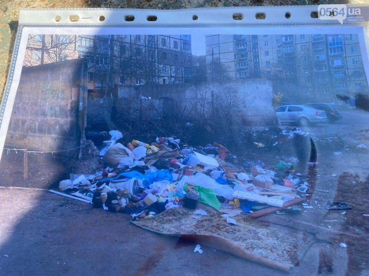 """""""Даже не смешно"""": криворожанам на просьбу реконструировать контейнерную площадку отчитались об уборке, - ФОТО, ВИДЕО , фото-13"""