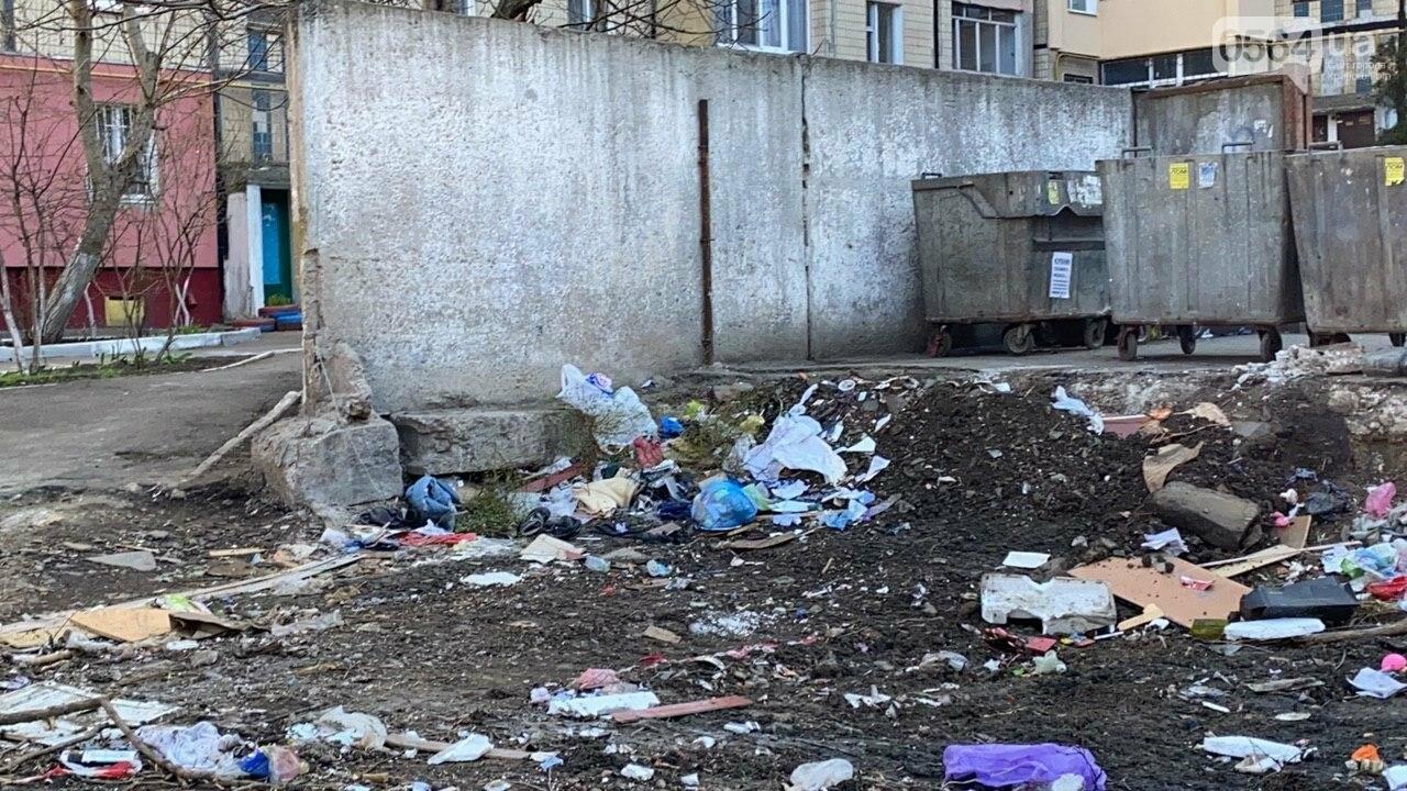 """""""Даже не смешно"""": криворожанам на просьбу реконструировать контейнерную площадку отчитались об уборке, - ФОТО, ВИДЕО , фото-17"""