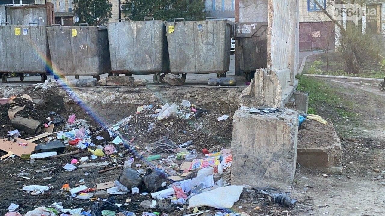 """""""Даже не смешно"""": криворожанам на просьбу реконструировать контейнерную площадку отчитались об уборке, - ФОТО, ВИДЕО , фото-16"""