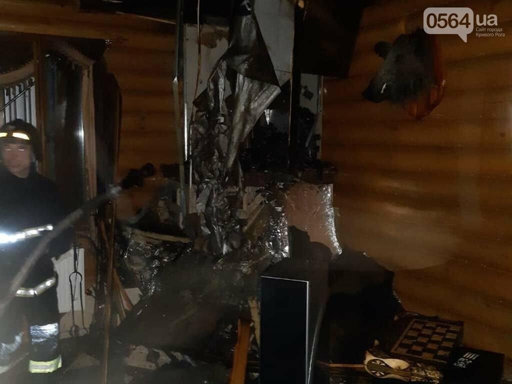 В Кривом Роге сгорела крыша двухэтажного жилого дома, - ФОТО , фото-3