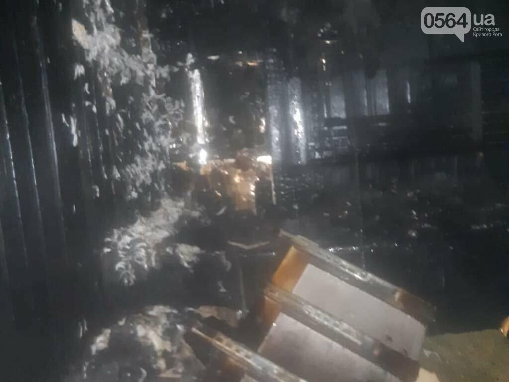 В Кривом Роге сгорела крыша двухэтажного жилого дома, - ФОТО , фото-2
