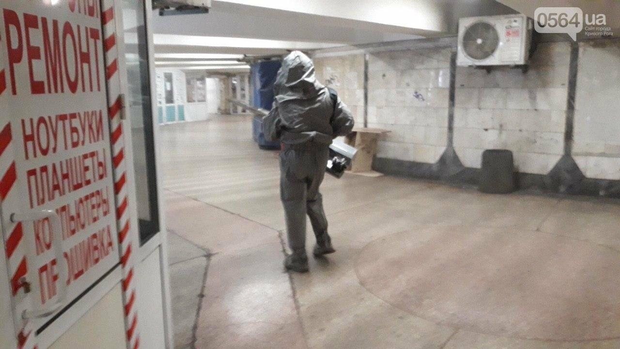 В Кривом Роге дезинфицируют подземные переходы, станции скоростного и подъезды, - ФОТО, ВИДЕО, фото-1