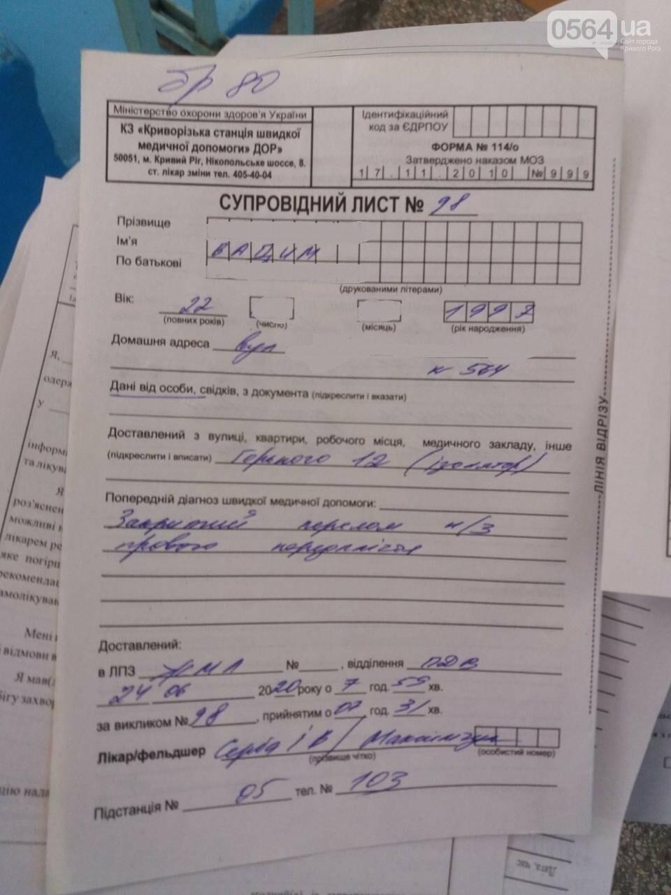 В Кривом Роге мужчина написал заявление в ГБР о том, как его избивали ночью в райотделе полиции , фото-2