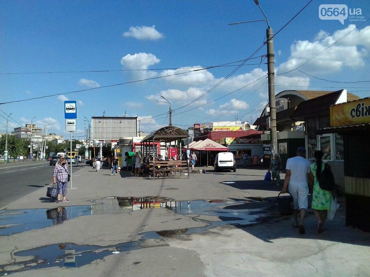 """Экстрим: Как возле """"Центрального рынка"""" Кривого Рога горожан убедили в полезности защитных масок, - ФОТО, фото-5"""