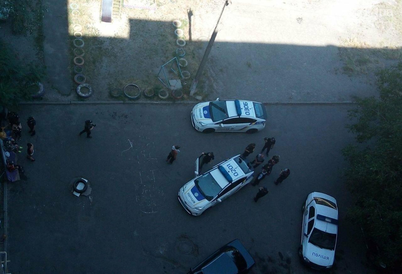 Во дворе жилого дома пьяный криворожанин открыл стрельбу, - ФОТО , фото-1
