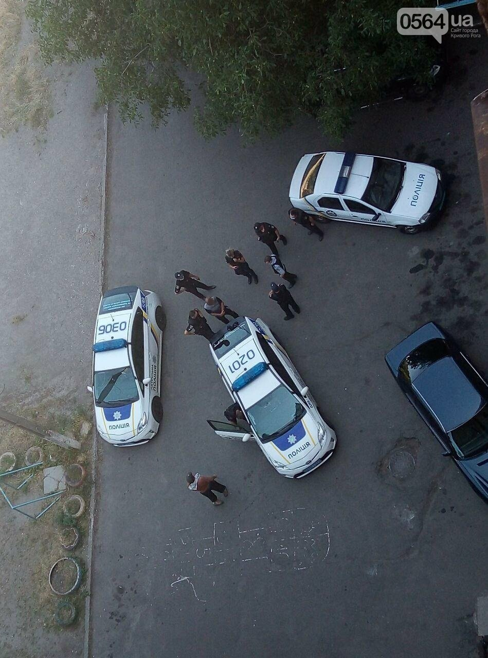 Во дворе жилого дома пьяный криворожанин открыл стрельбу, - ФОТО , фото-5