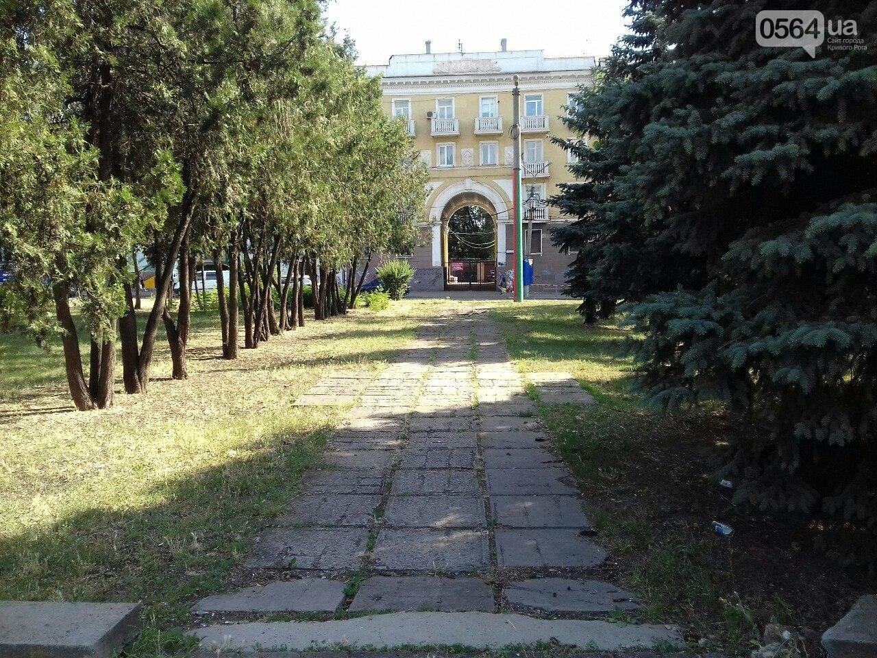 В сквере на центральной площади Кривого Рога воцарилась разруха, - ФОТО, фото-15