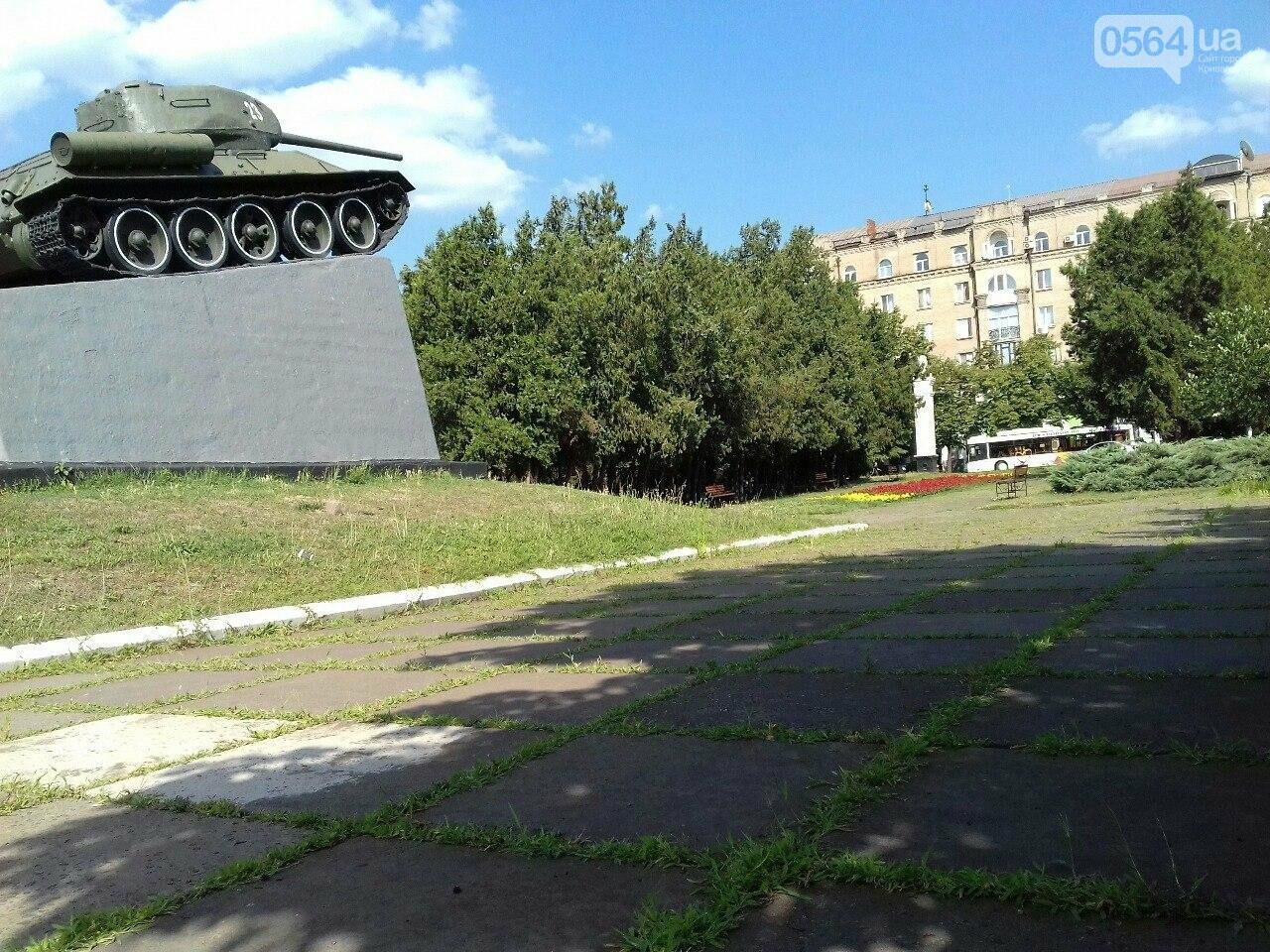 В сквере на центральной площади Кривого Рога воцарилась разруха, - ФОТО, фото-12
