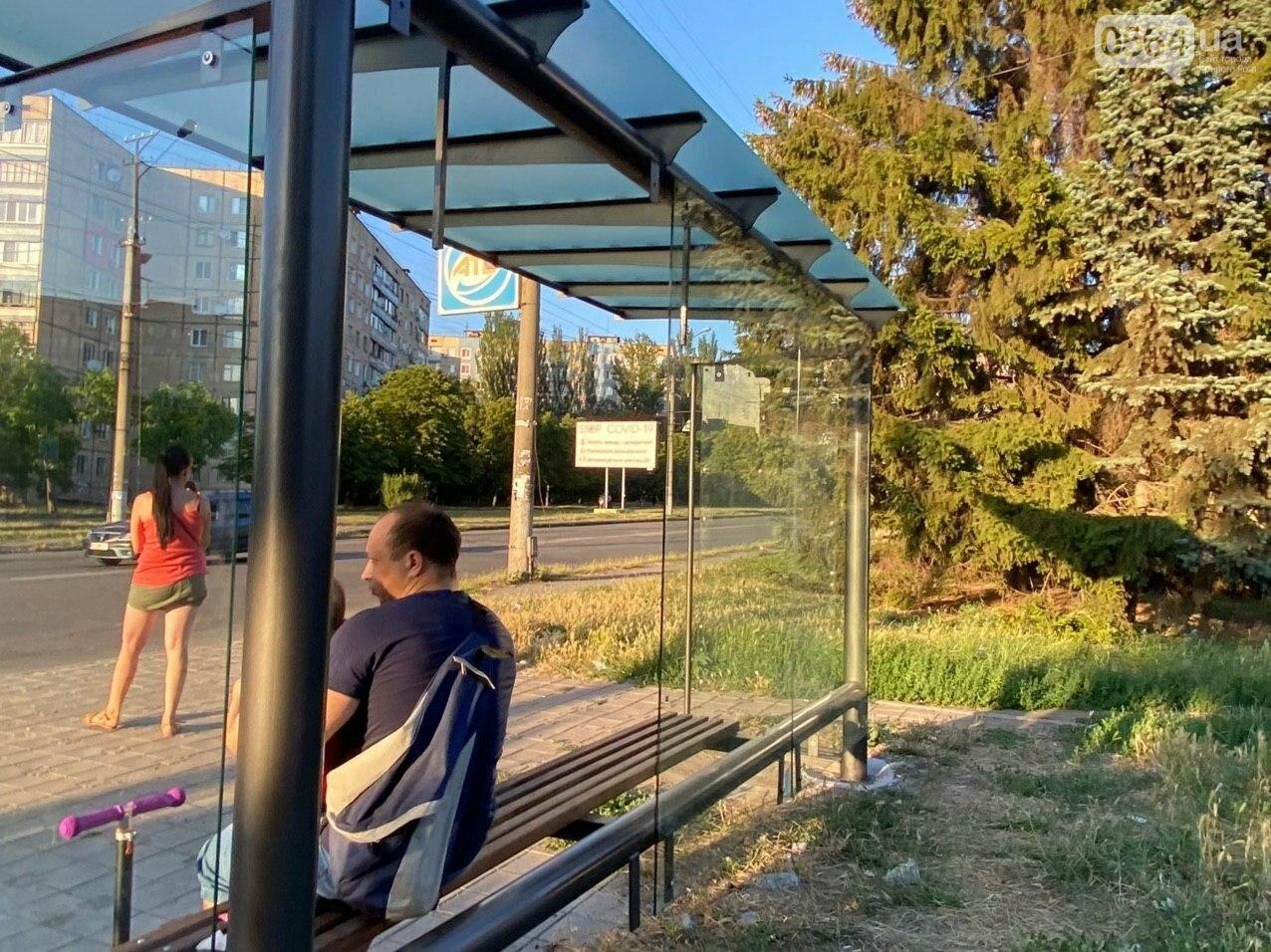"""""""Опять вандалы?"""": почему в Кривом Роге на новой остановке нет стекла, - ФОТО , фото-3"""