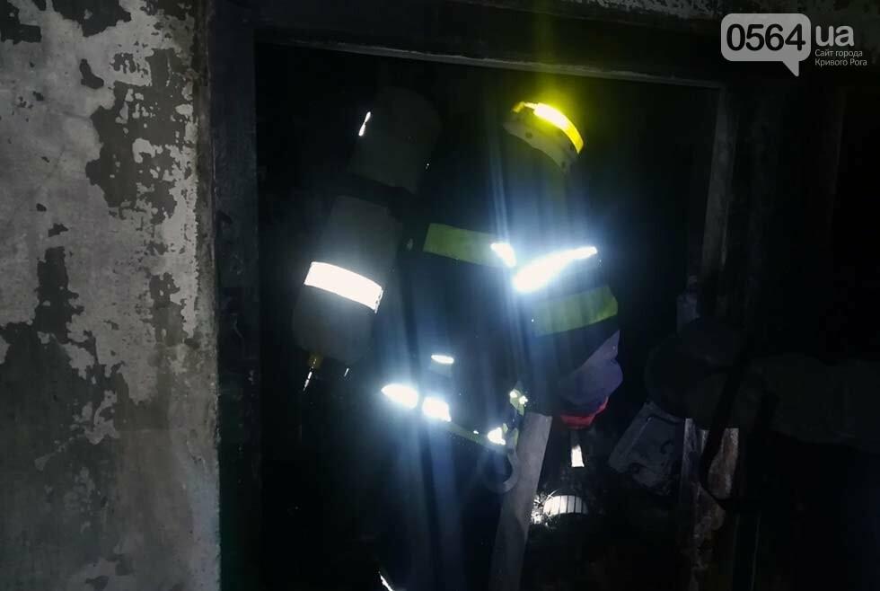 В Кривом Роге поздним вечером загорелась многоэтажка, - ФОТО, ВИДЕО , фото-1