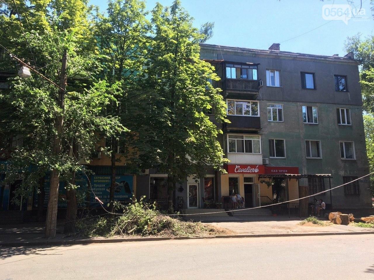 В Кривом Роге сломавшаяся электроопора, удерживаемая каркасом из арматуры, зависла прямо над тротуаром, - ФОТО, фото-7