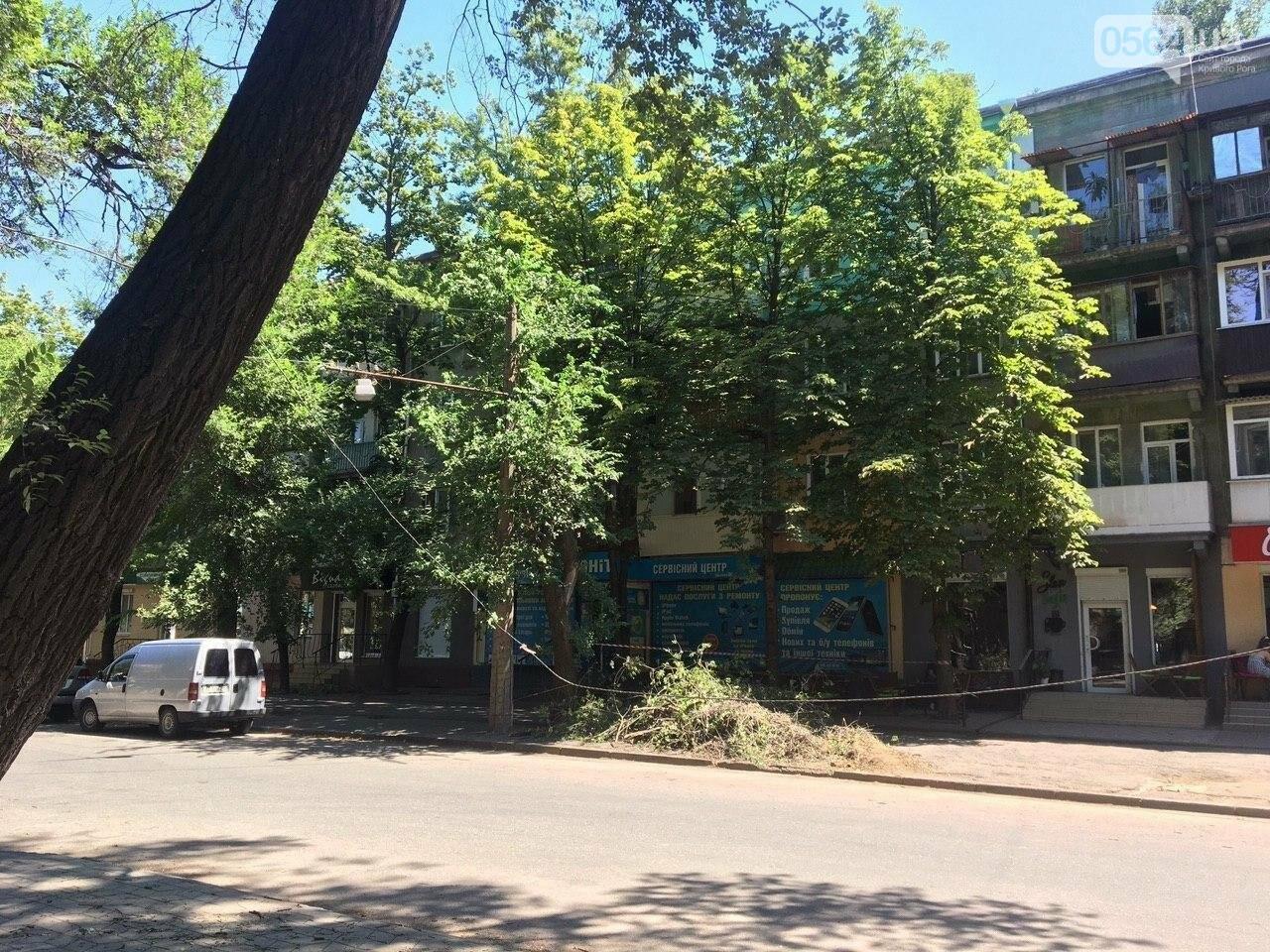 В Кривом Роге сломавшаяся электроопора, удерживаемая каркасом из арматуры, зависла прямо над тротуаром, - ФОТО, фото-10