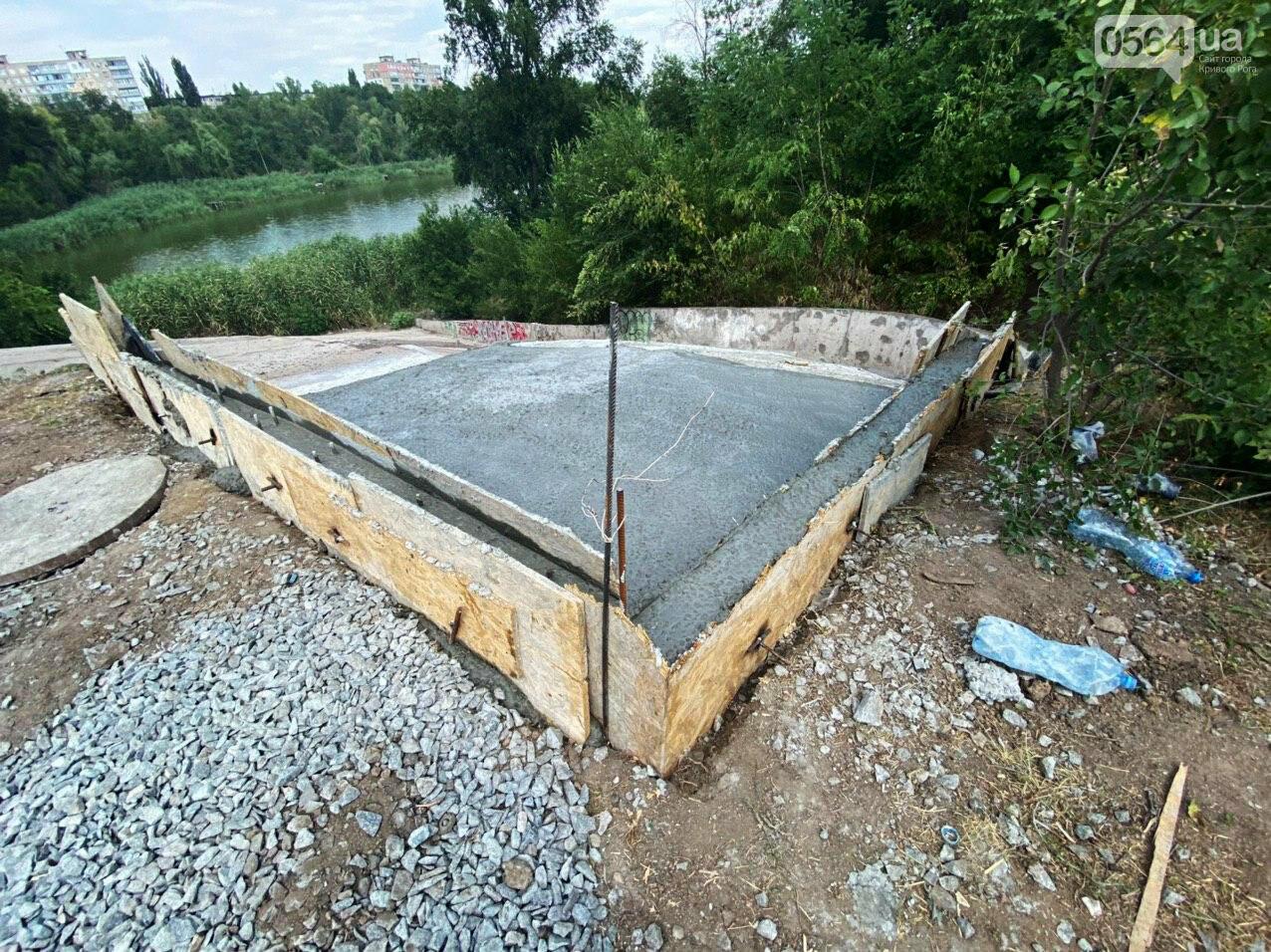 В Кривом Роге опять ремонтируют мост, где 5 лет назад произошло ЧП, - ФОТО , фото-12