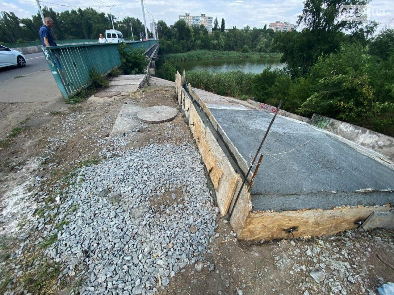 В Кривом Роге опять ремонтируют мост, где 5 лет назад произошло ЧП, - ФОТО , фото-13