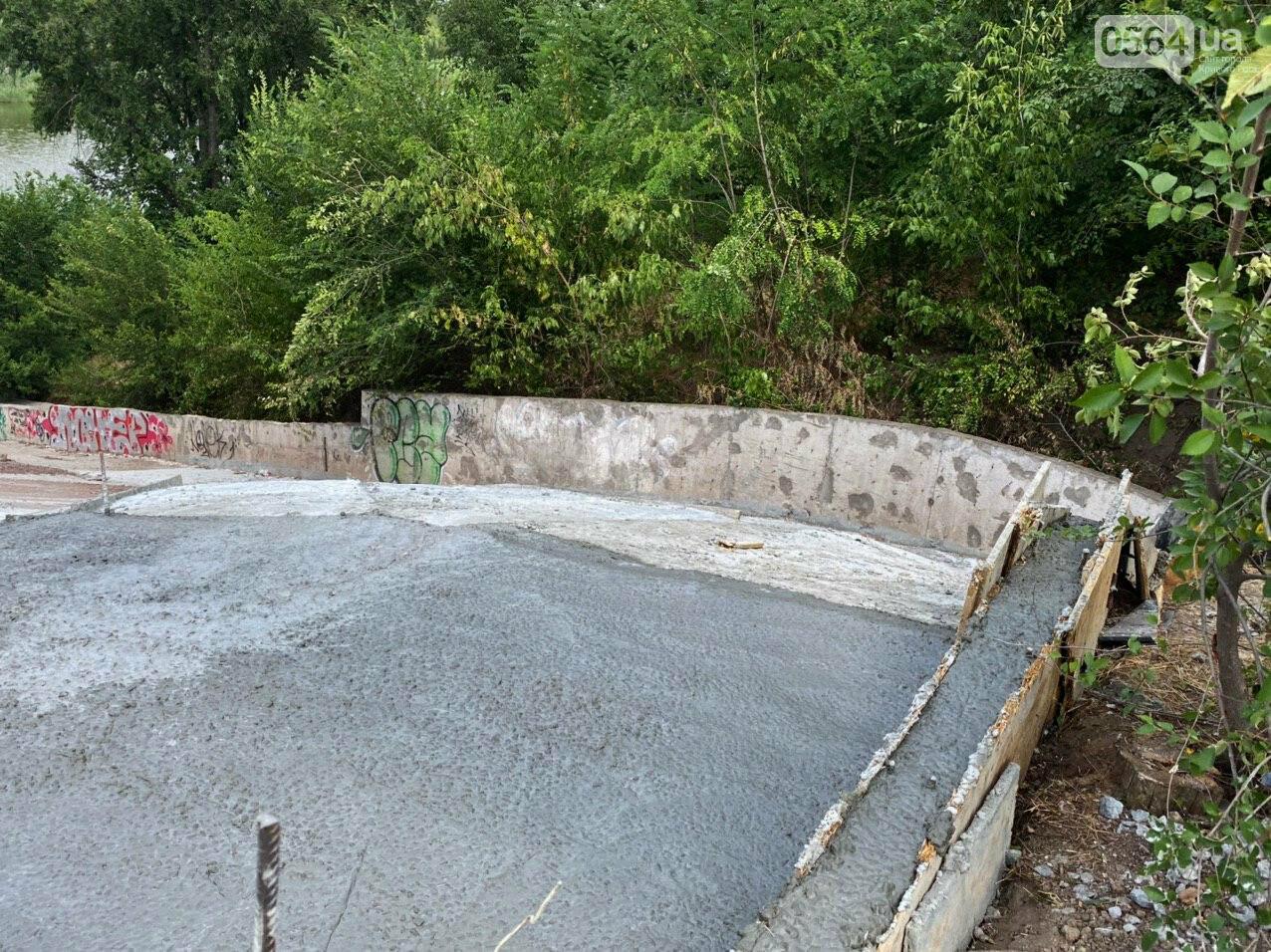 В Кривом Роге опять ремонтируют мост, где 5 лет назад произошло ЧП, - ФОТО , фото-10