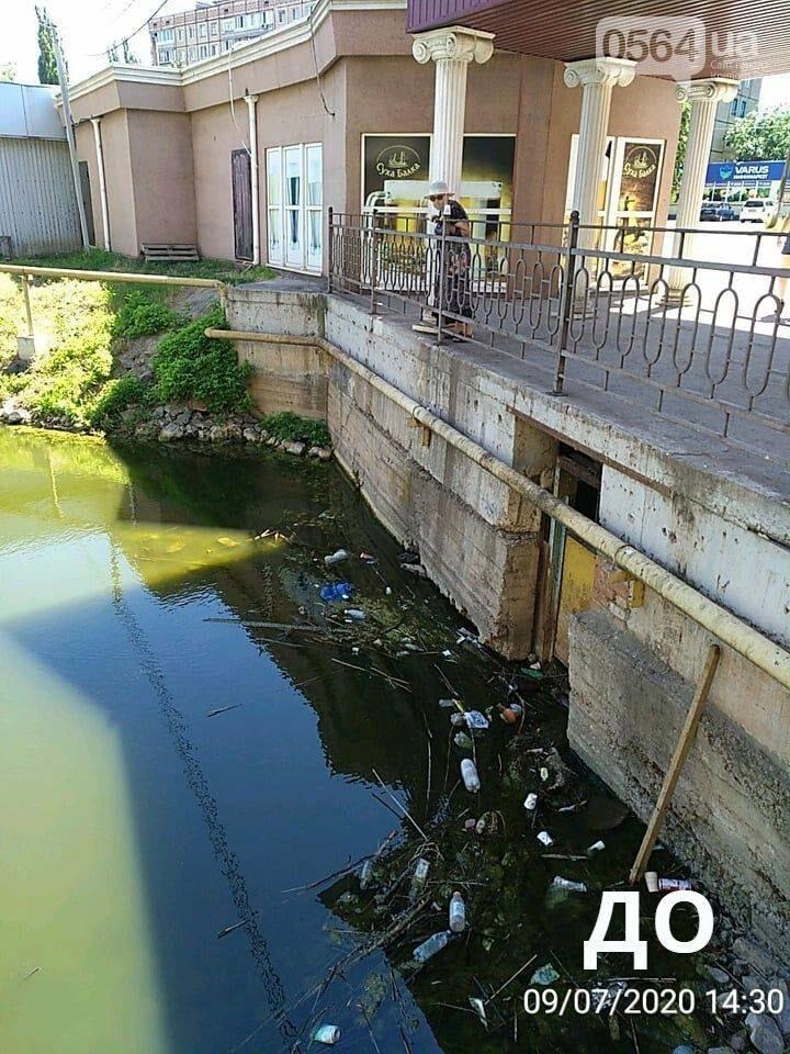 В Кривом Роге проверили чистоту прибрежной зоны Старой Саксагани, - ФОТО , фото-1