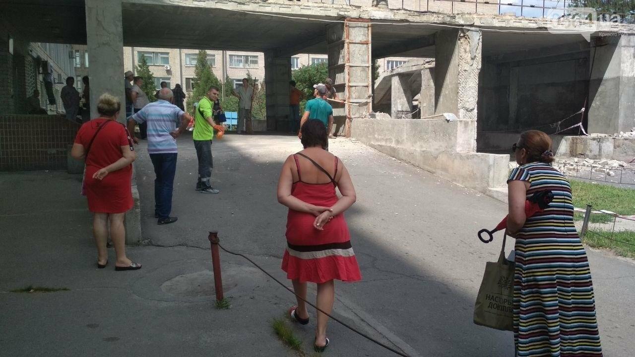 """В Кривом Роге стартовала реконструкция входа в главный корпус """"тысячки"""", - ФОТО, фото-15"""