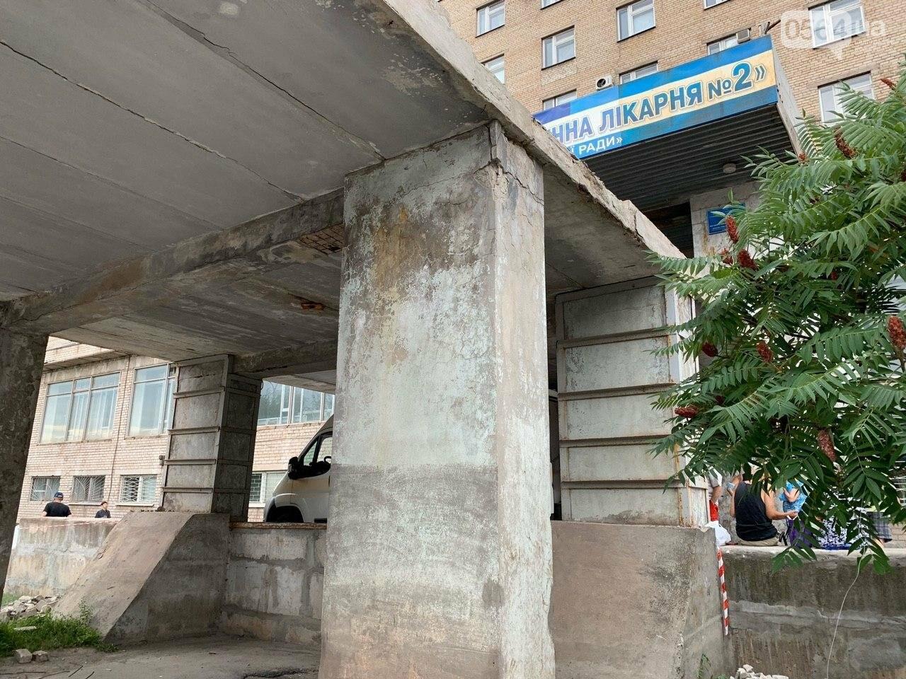 """В Кривом Роге стартовала реконструкция входа в главный корпус """"тысячки"""", - ФОТО, фото-23"""