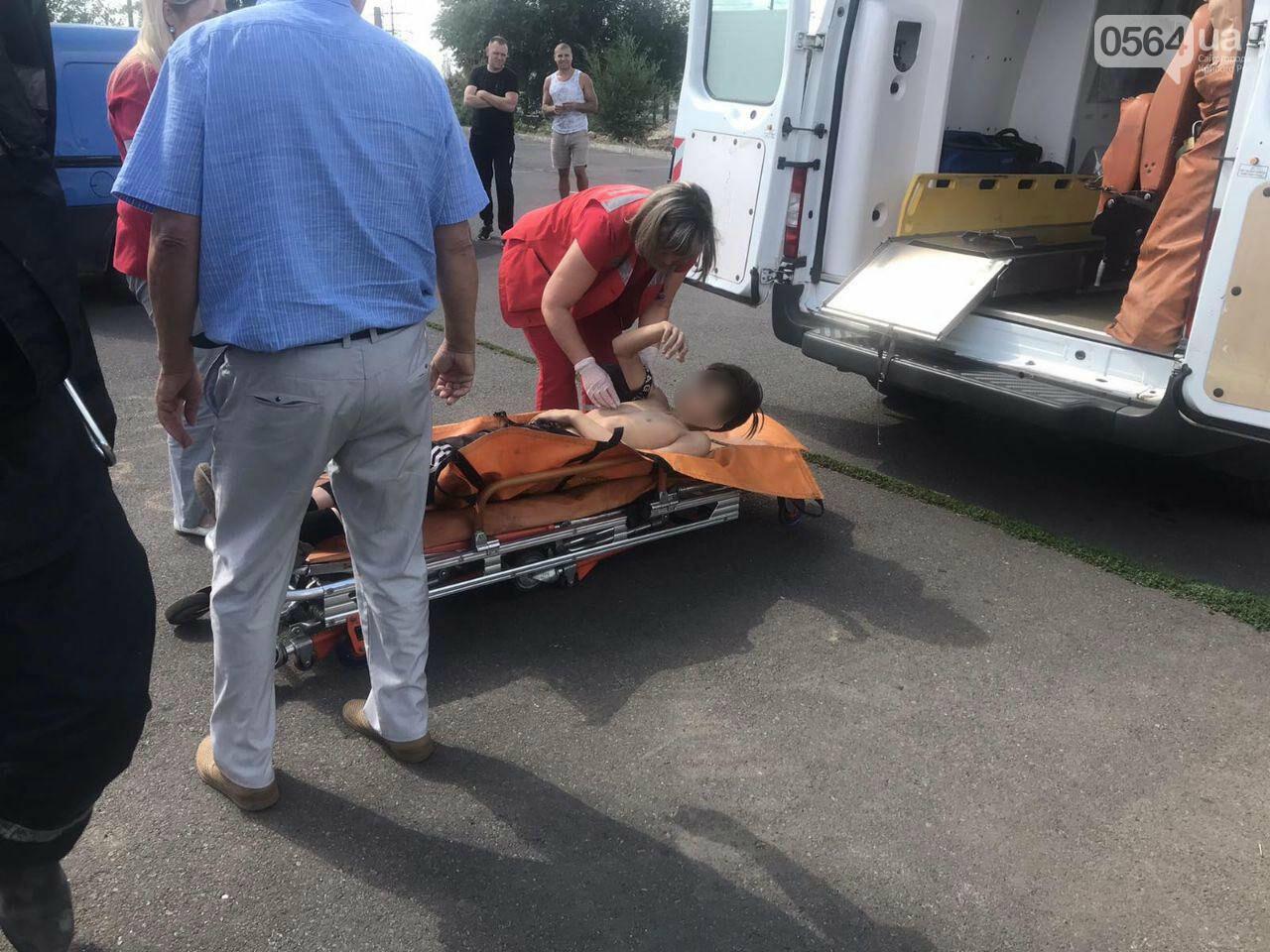 В Кривом Роге пьяный подросток без помощи спасателей не мог спуститься с трубы под мостом, - ФОТО , фото-4