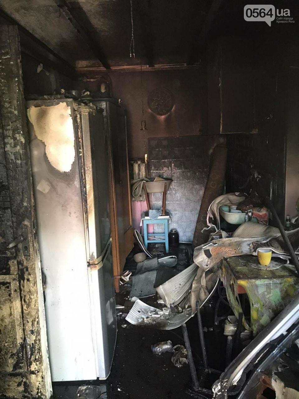 Из горящего дома криворожские спасатели эвакуировали 89-летнюю женщину, фото-5