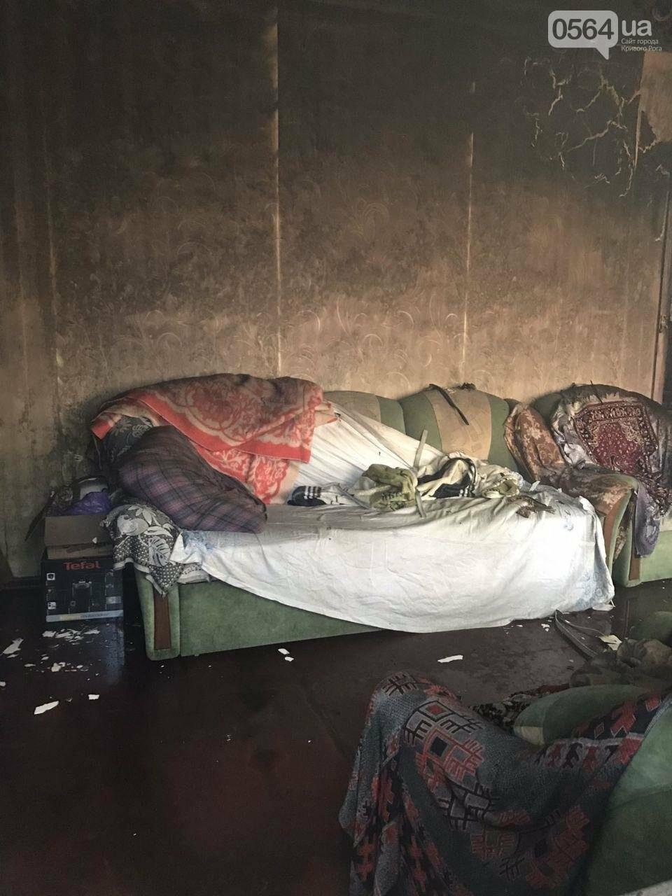 Из горящего дома криворожские спасатели эвакуировали 89-летнюю женщину, фото-6