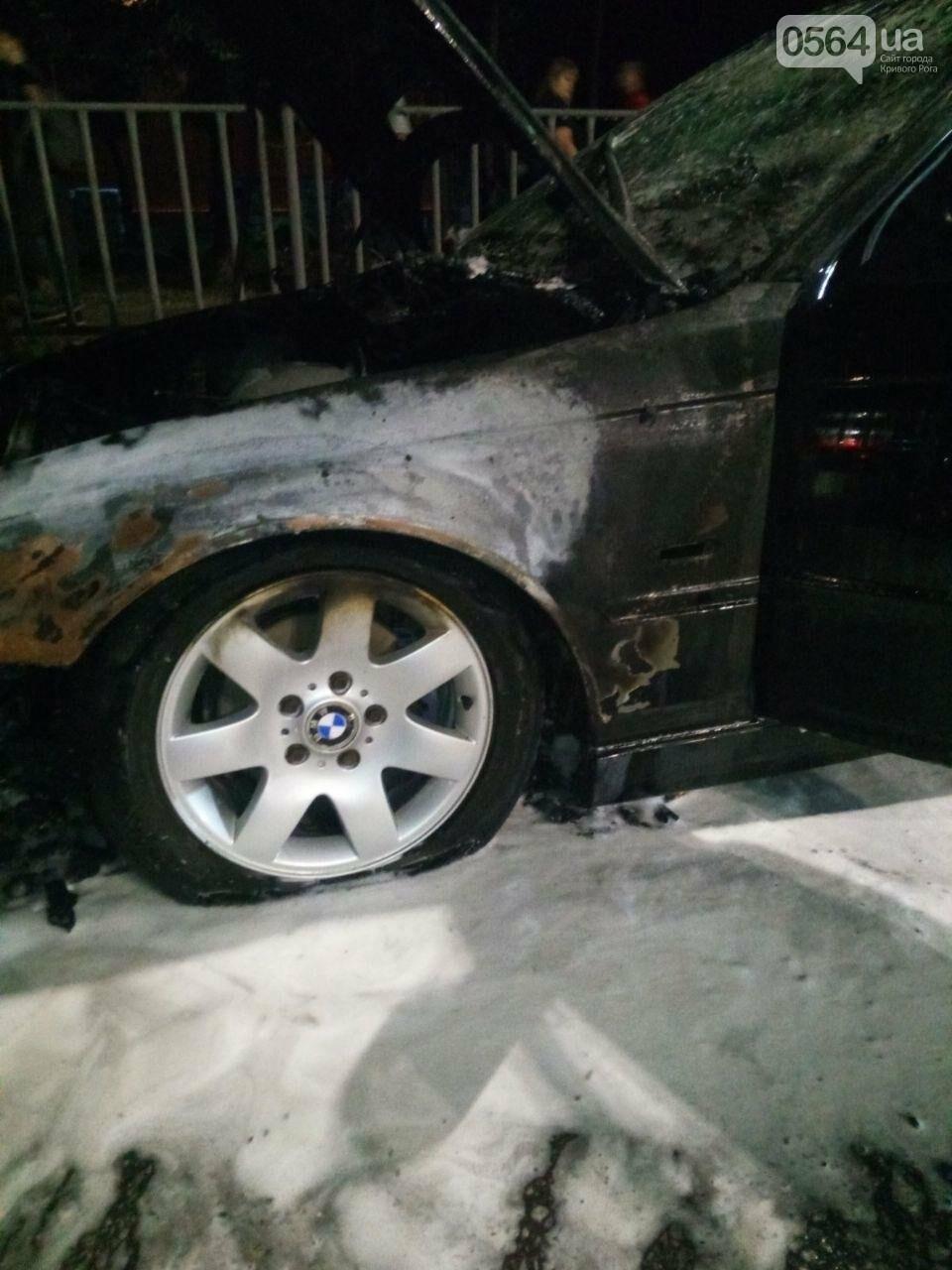 В Кривом Роге на ходу загорелась иномарка, - ФОТО, фото-2