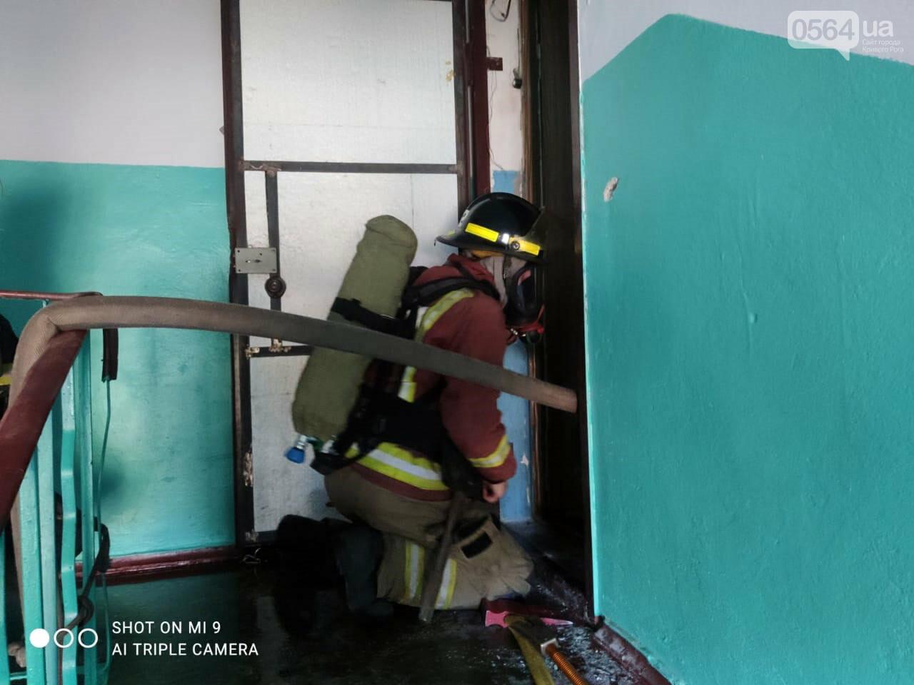 Из задымленной квартиры спасатели вынесли 80-летнюю криворожанку, - ФОТО , фото-2