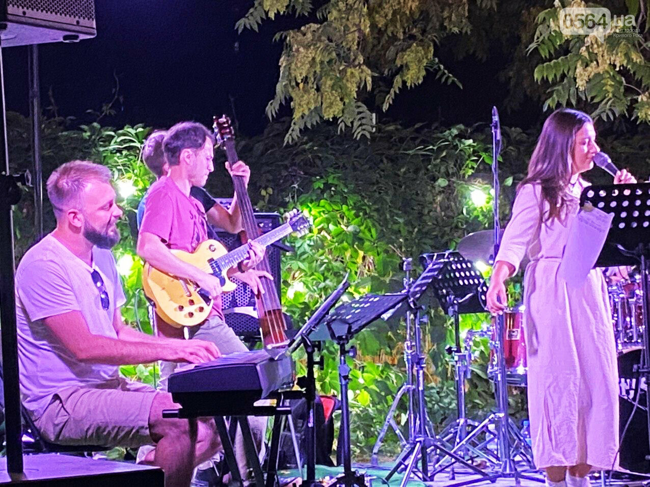 Под звездным небом криворожане наслаждались летним джазом от  Advantage Project, - ФОТО, ВИДЕО , фото-67
