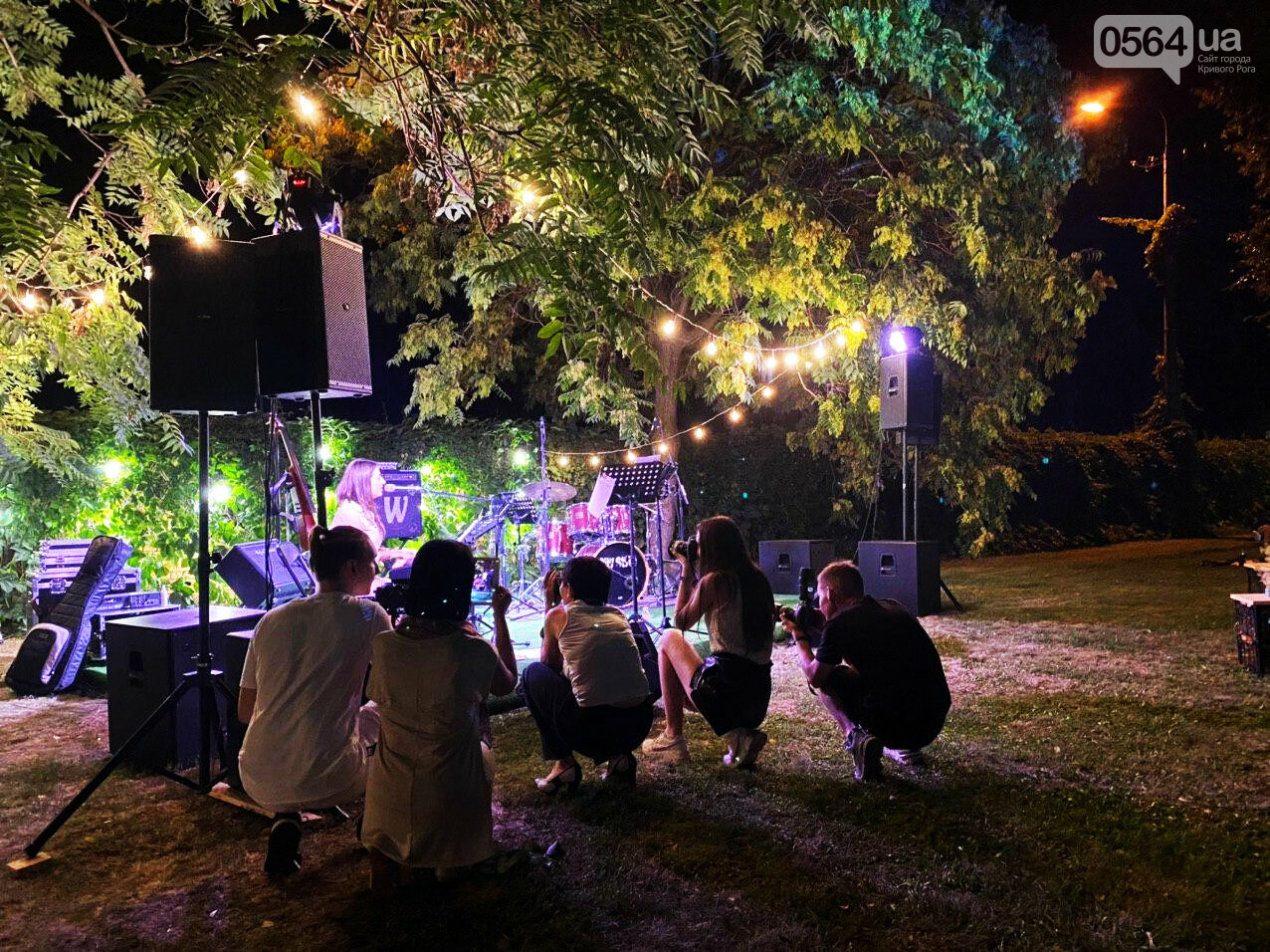 Под звездным небом криворожане наслаждались летним джазом от  Advantage Project, - ФОТО, ВИДЕО , фото-66