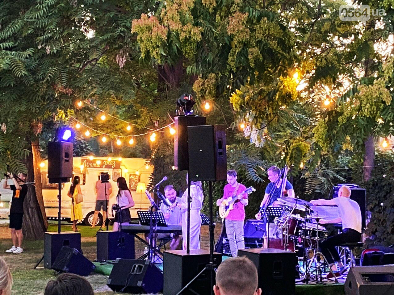 Под звездным небом криворожане наслаждались летним джазом от  Advantage Project, - ФОТО, ВИДЕО , фото-45