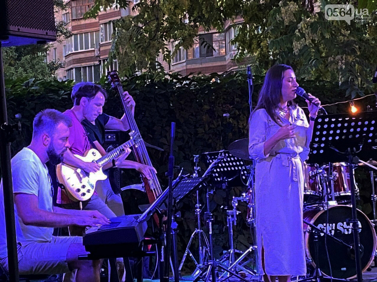 Под звездным небом криворожане наслаждались летним джазом от  Advantage Project, - ФОТО, ВИДЕО , фото-17