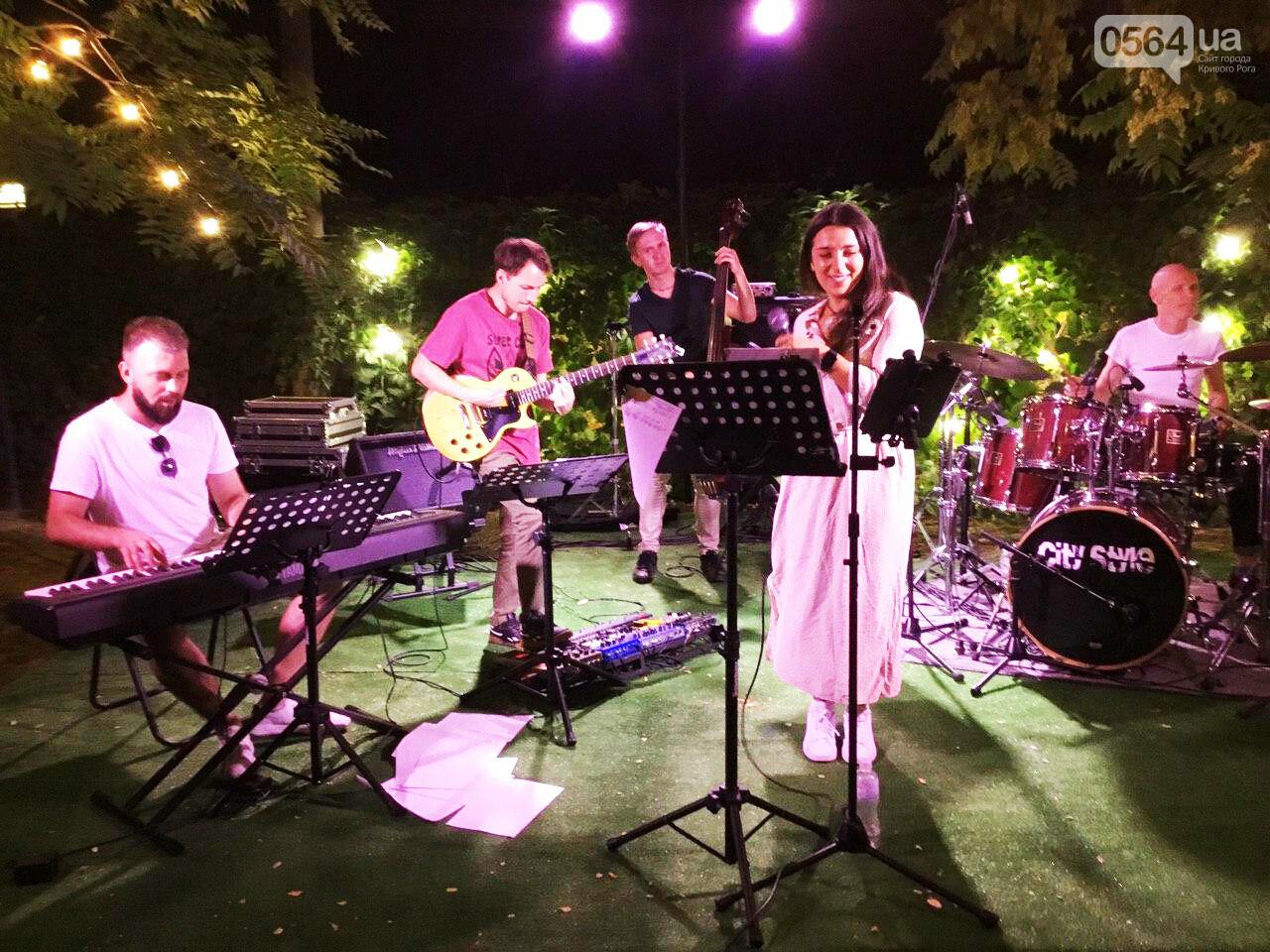 Под звездным небом криворожане наслаждались летним джазом от  Advantage Project, - ФОТО, ВИДЕО , фото-12